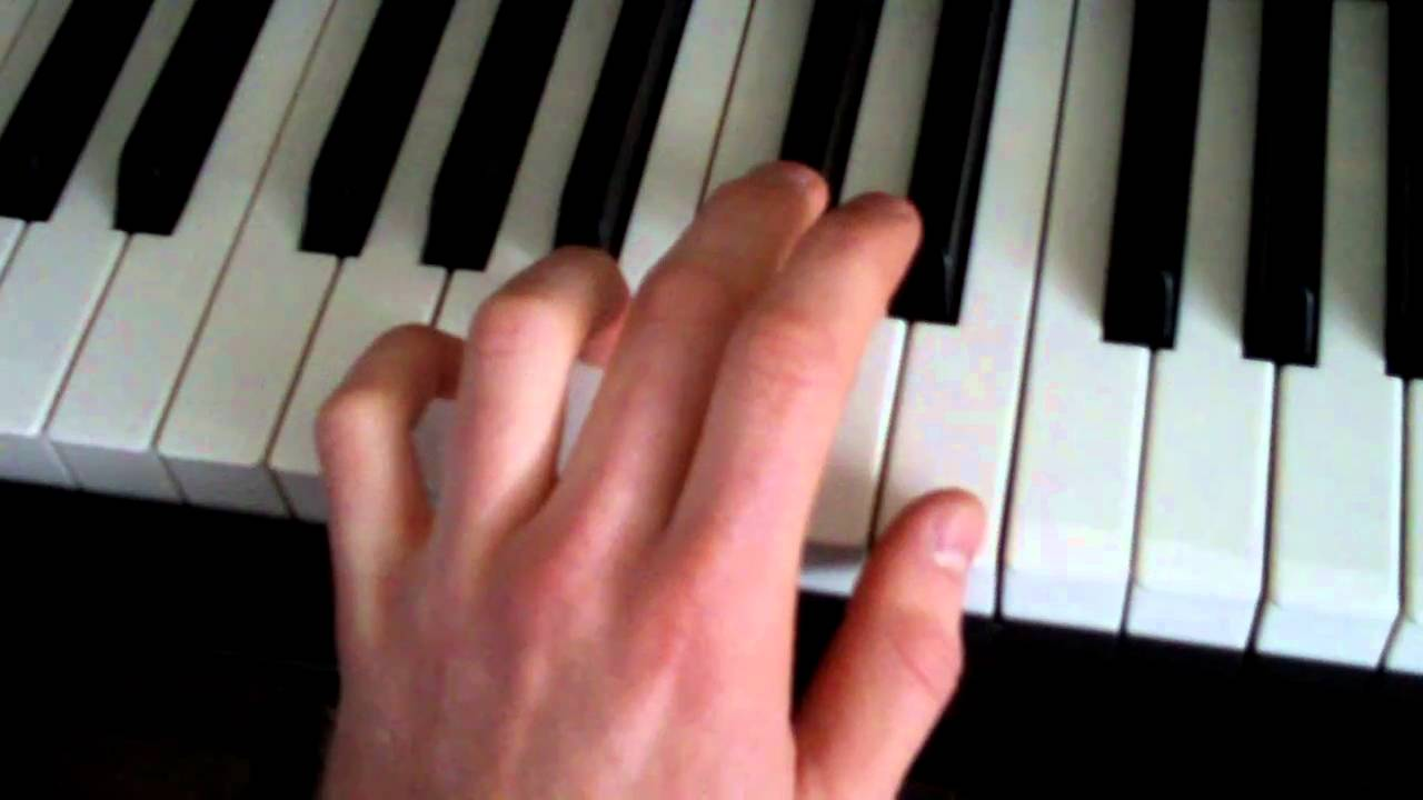 How To Play Axis Of Awesome 4 Chords Accords Song On Piano Youtube