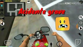 Moto vlog Brasil: primeiro moto vlog e cai com a moto!!