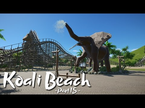 Planet Coaster - Koali Beach (Part 15) - Elephant (ft. DeLadysigner, Silvarret & Keralis)