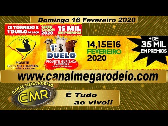 IX Torneio e 1º Duelo De Laço 16  de fevereiro de 2020 - São Jose do Hortencio-RS
