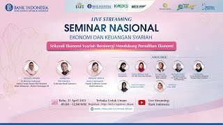 [LIVE STREAMING] Seminar Nasional Ekonomi dan Keuangan Syariah