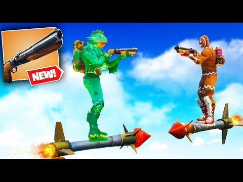 DOUBLE BARREL SHOTGUN JOUSTING in Fortnite Battle Royale