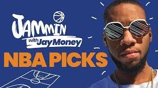 Rockets vs Grizzlies + Mavericks vs Warriors NBA Picks & Betting Previews | Jammin with Jay Money