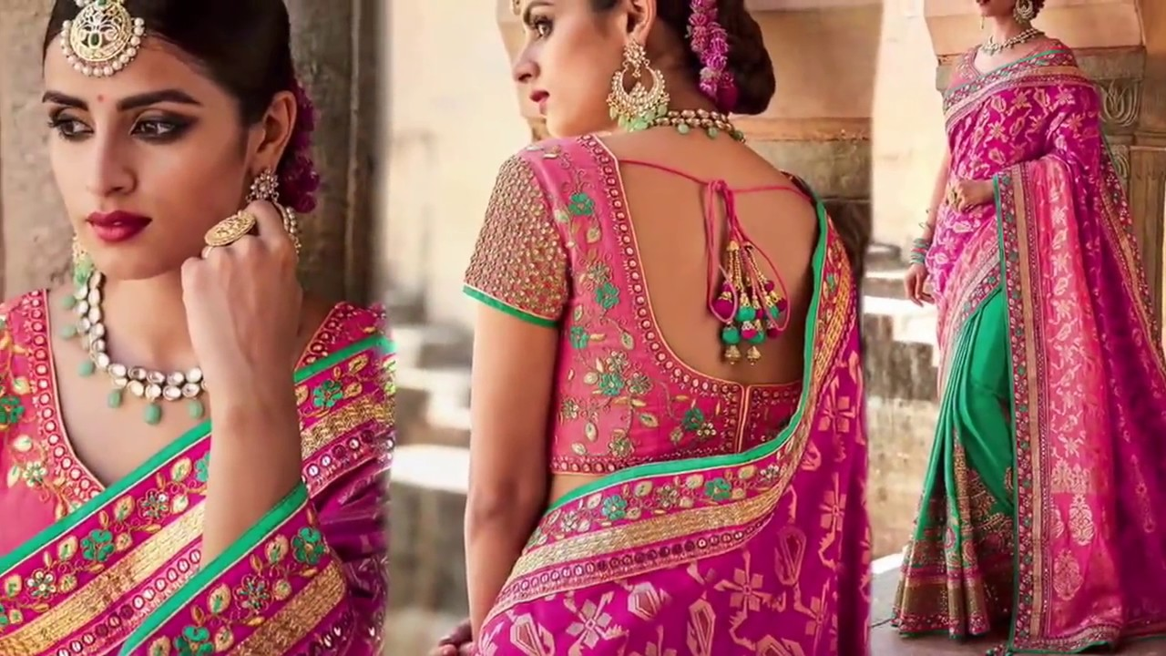 effc5fab085a2 Party Wear Designer Sarees  Fancy sarees Designs Latest Fashion collection  of Beautiful Indian saris