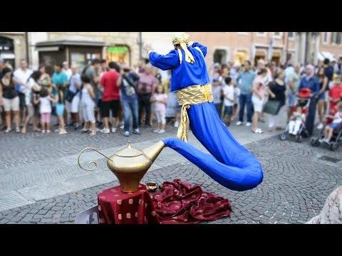 Die erstaunlichsten Straßenkünstler der Welt!