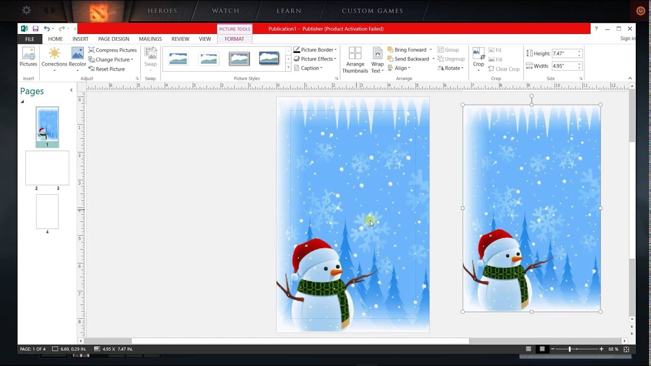 How to make greeting card in ms publisher youtube how to make greeting card in ms publisher kristyandbryce Gallery