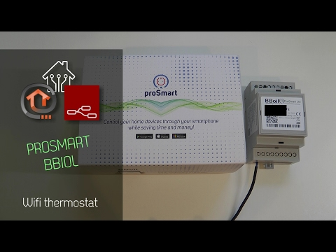 proSmart BBoil Wifi thermostat review