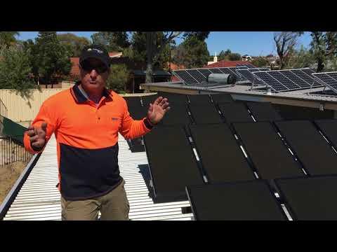 Formula Sun old solar panels versus new solar panels