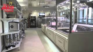 Виставковий зал холодильного обладнання Ваги AXIS Україна