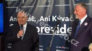 ČR - politika - prezident - volby - Zeman - Topolánek - Fischer - Horáček - Hynek