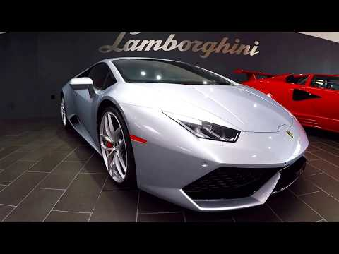 Lamborghini dealership in La Jolla California