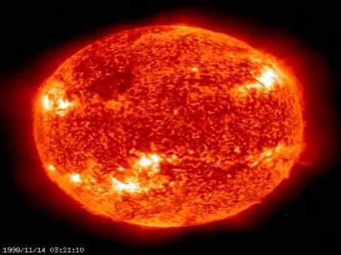 SOHO Solar Footage High Quality
