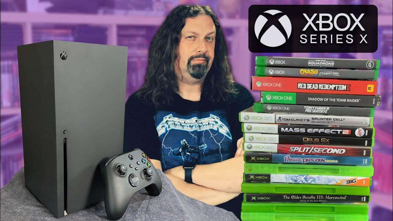 Download It's here! XBOX SERIES X - Testing 4 generations of Xbox games!