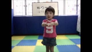 賴卓林(3歲半)第二次參加普通話朗誦比賽培訓