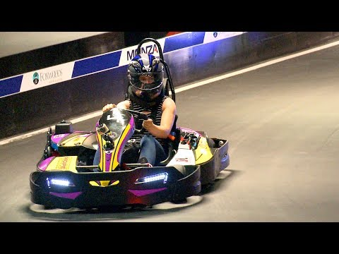 Hitting the course at Monza World-Class Karting at Foxwoods