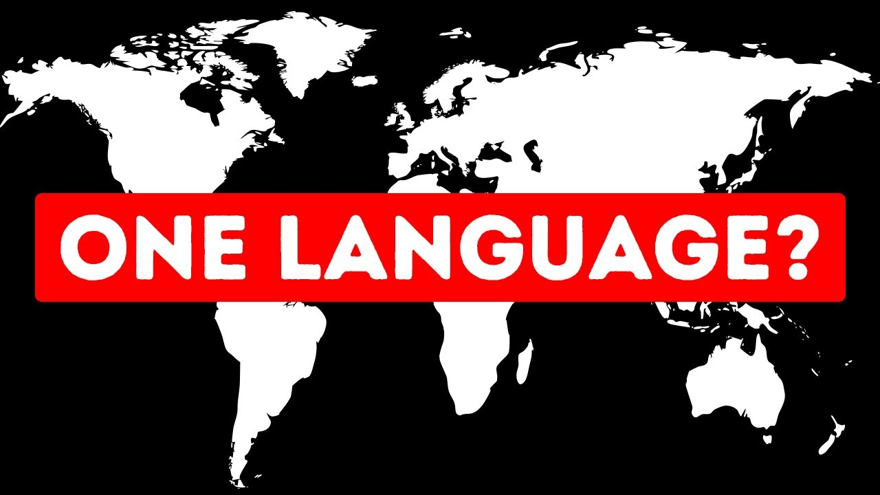 What If All 7 Billion People Spoke One Language