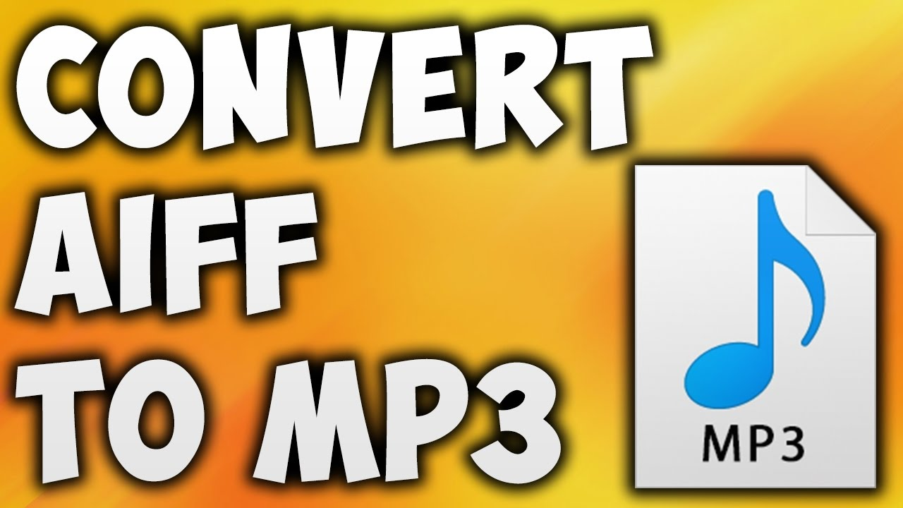 How To Convert AIFF TO MP3 Online - Best AIFF TO MP3 Converter [BEGINNER'S  TUTORIAL]