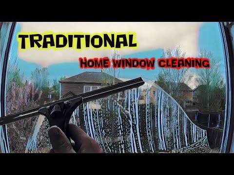 TRADITIONAL HOME WINDOW CLEANING