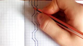 Видео урок : Рисование косички. (Для ЛД)