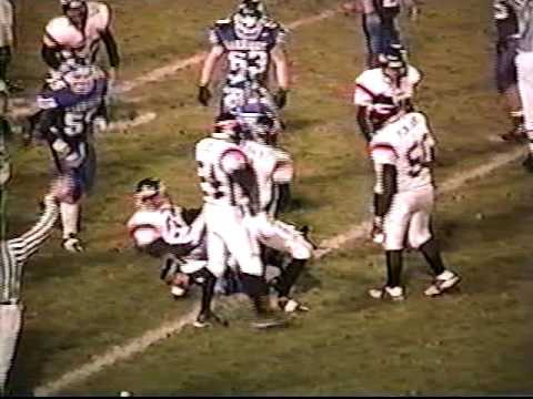 2003 Muskegon Oakridge vs White Cloud (Disricts) (Game 10) Part 1