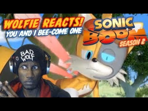 Wolfie Reacts: Sonic Boom Season 2 Ep 47 You and I Beecome One  Werewoof Reactions