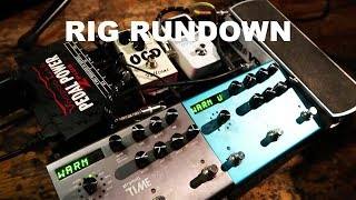 RIG RUNDOWN WITH JUSTIN NOZUKA'S BAND | DRUMMER ON TOUR VLOG