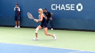 Urszula Radwanska - US Open 2013 - Slow motion video 02