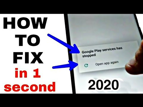 How To Fix Unfortunately Google Play Service Has Stopped 2019:google Play Service Keep Stopping
