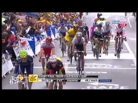 Rein Taaramäe Tour de France 2011 (Stage 16)