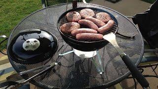 Weber Smokey Joe Silver Charcoal Grill Unboxing