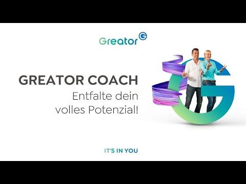 Starte jetzt deine Ausbildung zum Greator Coach!