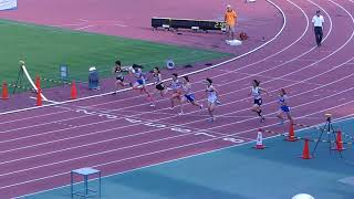 2017東部高校新人 女子100m 決勝
