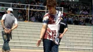 [Fancam] 120704 김현중 Kim Hyun Joong guerilla live @ divercity tokyo