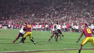 Utah Football's failed 2 point conversion vs USC