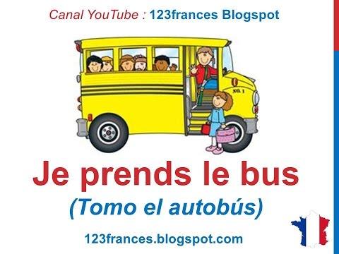Curso de francés 39 - MEDIOS DE TRANSPORTE en francés Vocabulario Moyens de transport