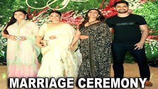 MANY CELEBS ATTEND MARRIAGE CEREMONY OF JAYANTILAL GADA SON AKSSHAY