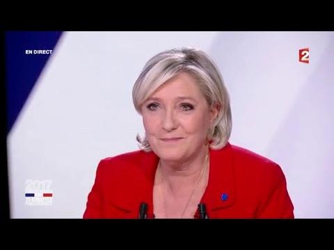 """Marine Le Pen dans """"15 minutes pour convaincre"""" sur France 2"""