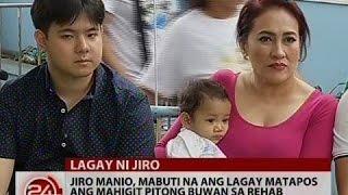 24 Oras: Jiro Manio, mabuti na ang lagay matapos ang mahigit 7 buwan sa rehab