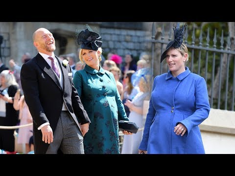 Zara Tindall gives birth to second baby weighed 9Ibs 3oz on Monday