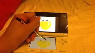 Nintendo 3DS Emoji draw Time Lapse