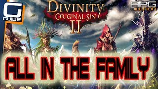 DIVINITY ORIGINAL SIN 2 - All in the Family Quest Walkthrough