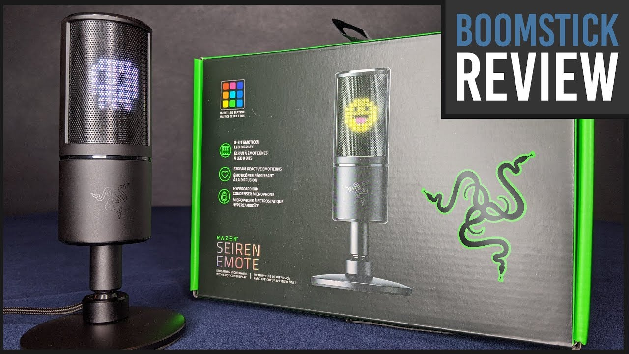 Razer Seiren Emote Microphone: 2020 REVIEW | Interesting Ideas, Niche Audience (Video Game Video Review)