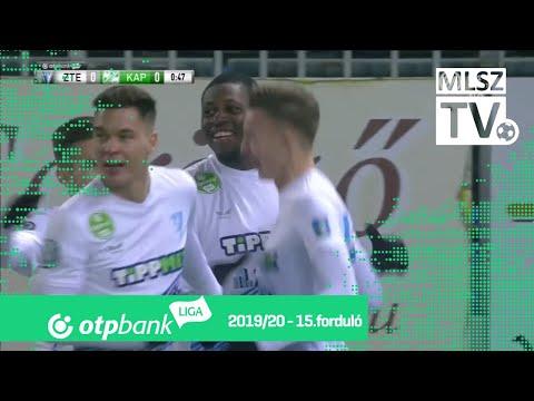Ikoba Eduvie gólja a ZTE FC – Kaposvári Rákóczi FC mérkőzésen