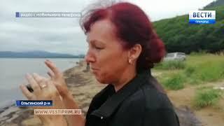 Иностранные суда ищут защиту от тайфуна 'Кроса' в бухте Ольга