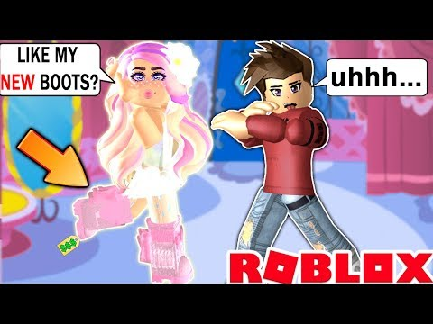 I Bought The NEW BOOTS To Impress My Crush But It Didn't Work... Royale High Roblox Roleplay
