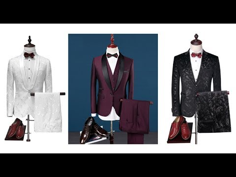 costume mariage homme de luxe mode 2019 youtube. Black Bedroom Furniture Sets. Home Design Ideas