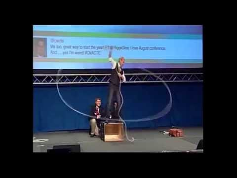 Will Roberts-Keynote Speaker Demo, Former Cirque du Soleil