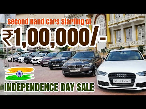 LUXURY Cars in 1 LAKH Only | AUDI | BMW | MERCEDES | USED CARS | DELHI CAR MARKET | SPEEDY TOYZ