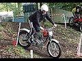 Ariel HT5 classic trials bike & Bultaco sidecar trials Demo