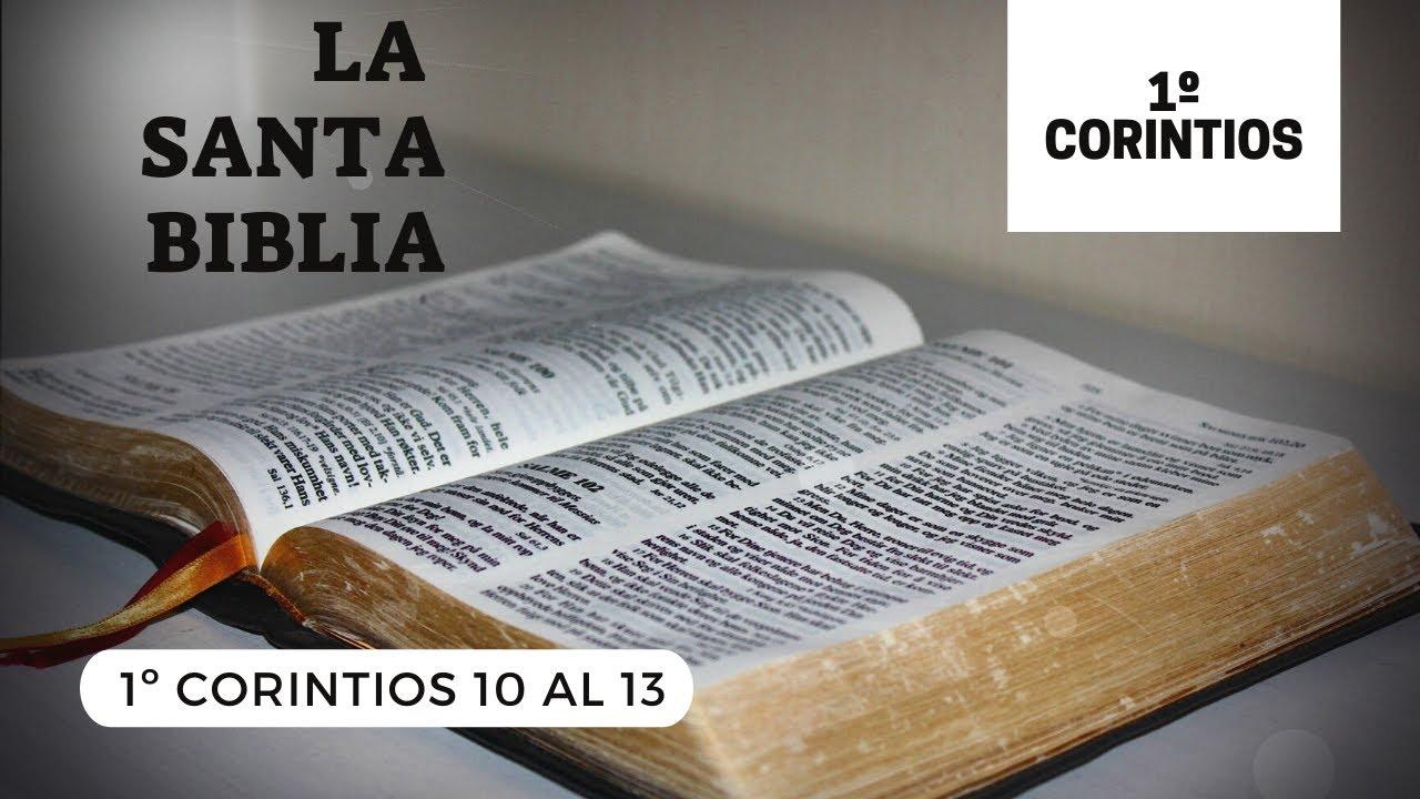 1 CORINTIOS 10, 11, 12, 13 (DÍA 293) LA SANTA BIBLIA    Audiolibro   
